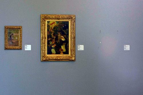 资料图:康索当代艺术中心画作。