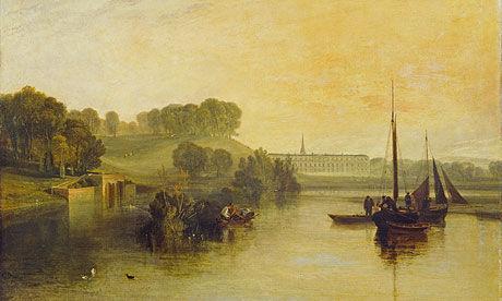 清新的早晨 1810,透纳于萨塞克斯的佩特沃斯庄园所作。Tate Images 供图