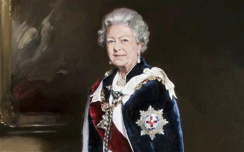 英国皇家邮政委托菲利普斯为女王作画制邮票