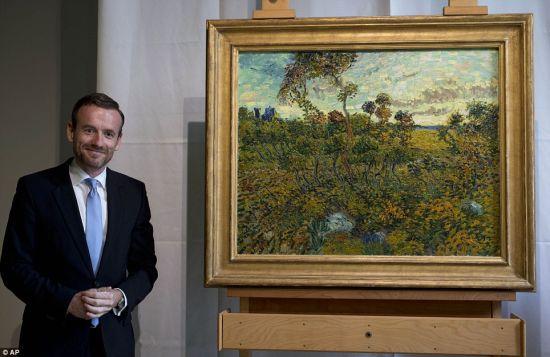 梵高博物馆馆长Axel Rüger为该画揭开面纱