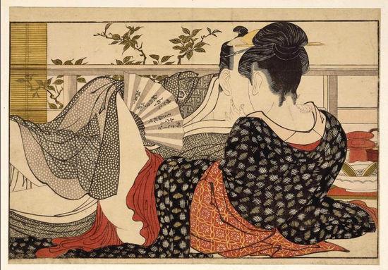 喜多川哥�O作品《枕边诗》