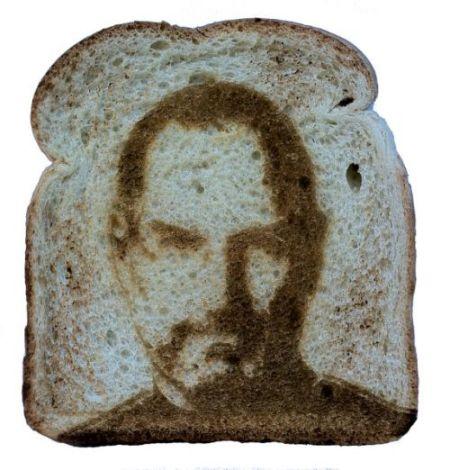 乔布斯面包切片