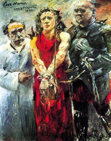 洛维斯・科林特《戴荆冕的耶稣》