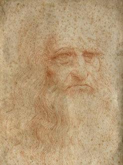 科学家试图修复现存唯一达芬奇自画像