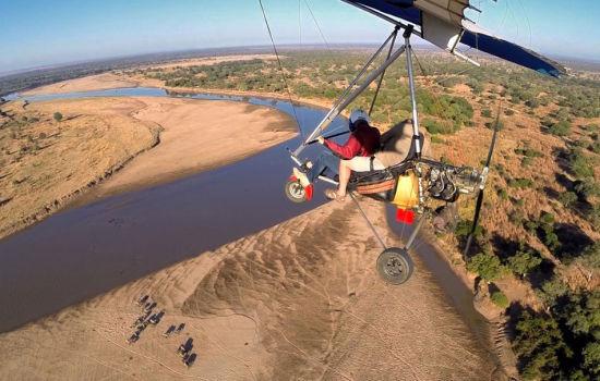 澳摄影师百米高空拍摄