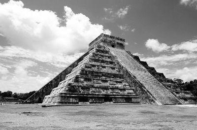 墨西哥奇琴伊查考古遗址