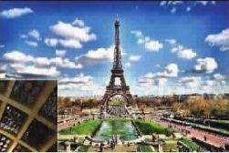 ■ 经典的埃菲尔铁塔也是世博会留给我们的佳作