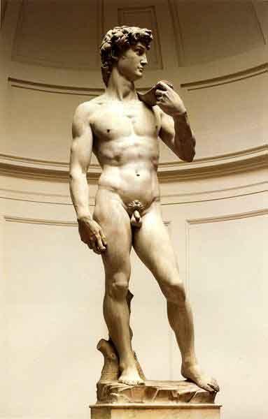 米开朗基罗的雕塑《大卫》