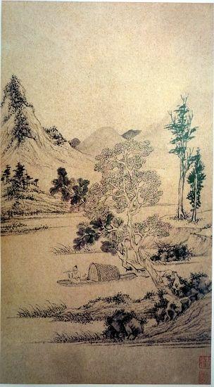 故宫博物院藏沈周《山水册》