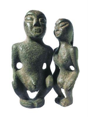 黑皮玉神祖像