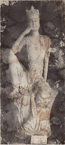 北宋瓷雕造像傑作——景德鎮窯素胎白瓷觀音像