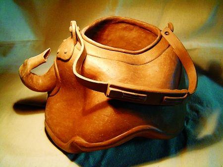 陶藝作品-水壺