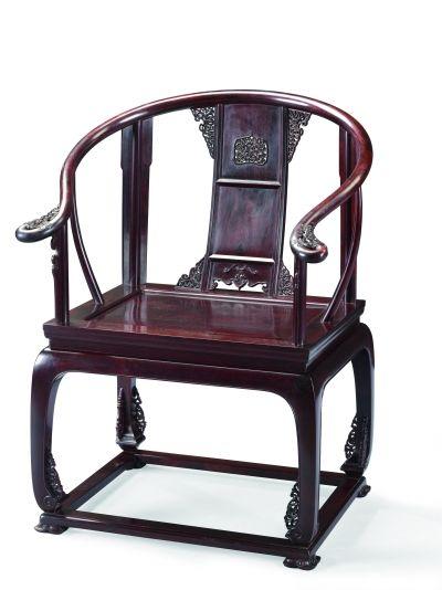 紫檀皇宮椅