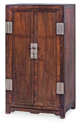 紫檀木小方角柜