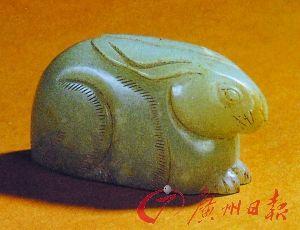 江衢州史繩祖墓出土的南宋玉兔形鎮紙