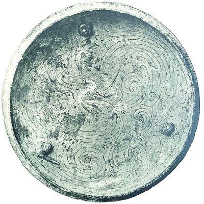 漢鳳凰(青銅雕刻英國喬治·尤摩弗帕勒斯收藏)