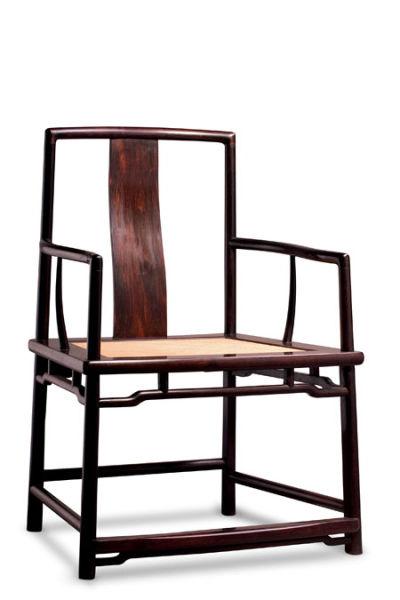 48,000.新中式扶手椅(图片提供:素元木作)新中式书柜.双色