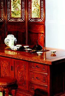 仿古红木家具