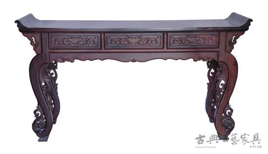 林福星设计作品:番莲三联供桌