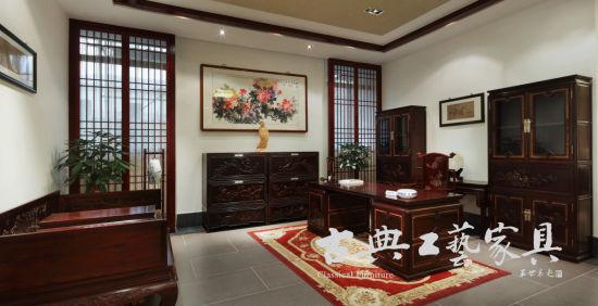 古典印象为怀古设计的红木家具体验馆