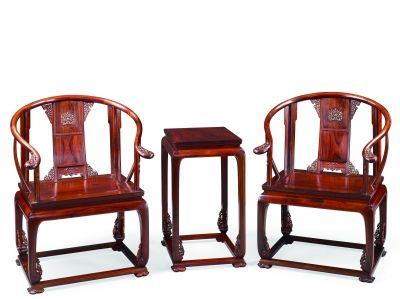 紅酸枝皇宮椅(套)
