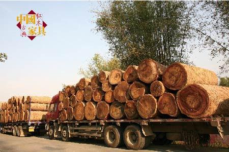 根据通知精神,红木制成家具或工艺品之后,在国内运输无须办理木材运输