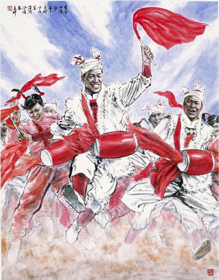 民族之光 绘出中国形象 以多种形式展示