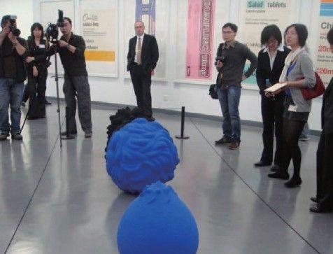 2010年2月份民生美术馆开馆前的预热展《未来总动员》