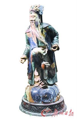 唐三彩人物俑
