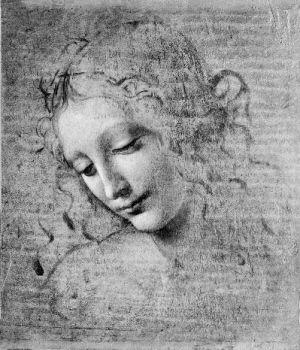 文艺复兴时期素描画作.