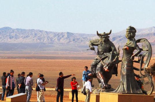 铁扇公主雕塑