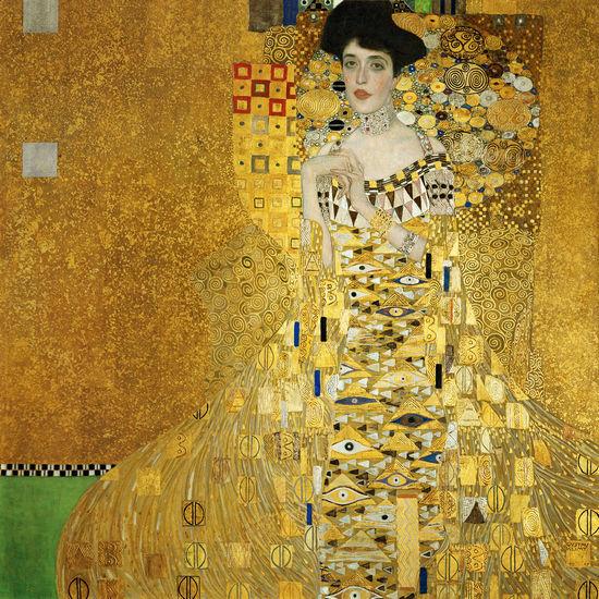 克里姆特的《阿黛尔·布洛赫-鲍尔》肖像引起了评论家在判断上的反复。