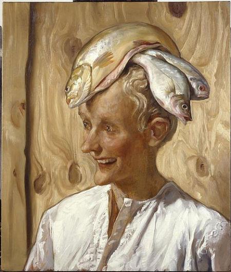 约翰·卡林对老年妇女的描绘同样让艺术评论家犹豫不决。