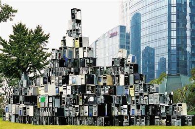 环保装置艺术作品_艺术考量:废物装置作品用行动质疑环境问题_评论分析_新浪收藏 ...
