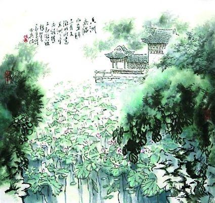 苏州园林:拙政园里画卅一景