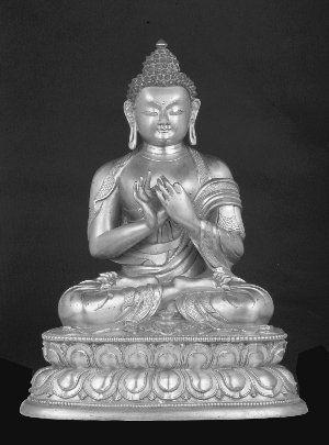 佛像专场推出的清乾隆释迦牟尼