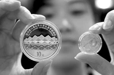 金银币价格随着金价上涨水涨船高