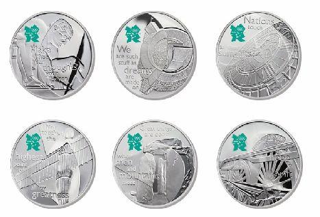 """""""欢庆英国""""系列纪念币"""