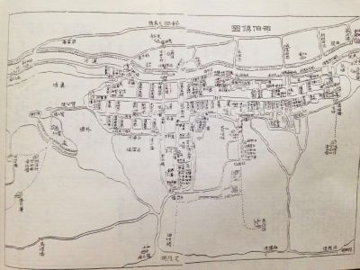 唯一扬州古镇地图