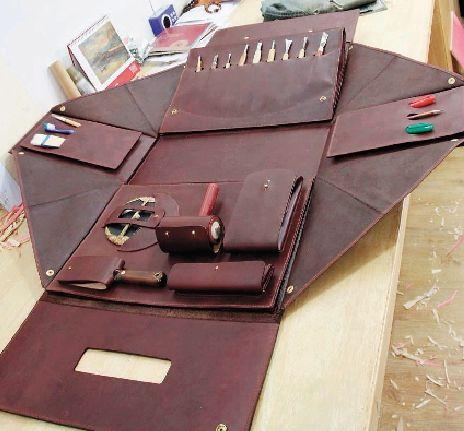 马川设计的工具包内部结构