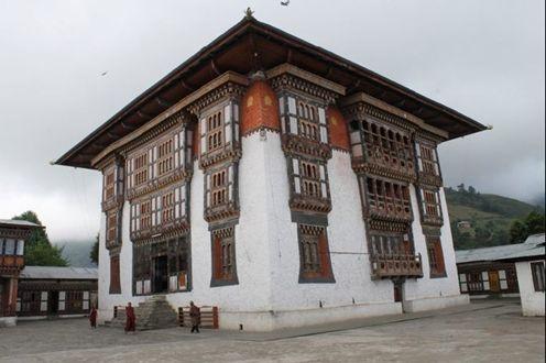 位于不丹的德拉迈茨神庙群