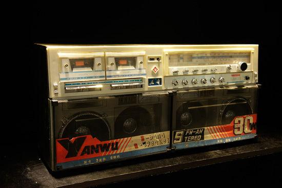 双卡立体声收录机