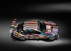 宝马M3 GT2艺术车,杰夫・昆斯(Jeff Koons)