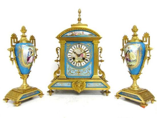古董镏金西洋钟