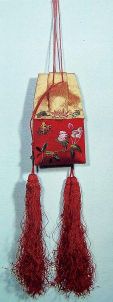 刺繡檳榔香袋