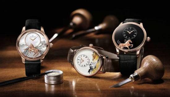 雅克德罗( Jaquet Droz)3款为马年特制手表