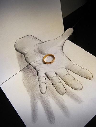铅笔画婚纱教程步骤图解