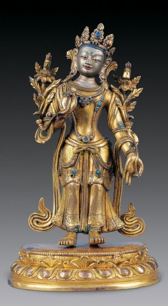 明清时期佛像造型转向藏式