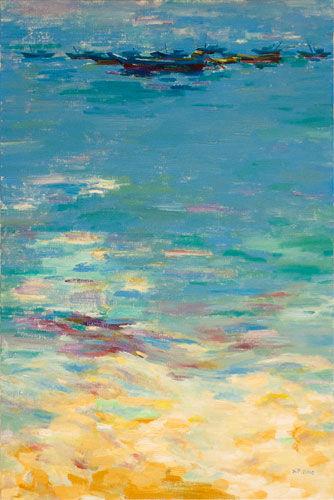 静静的海(60x90cm)