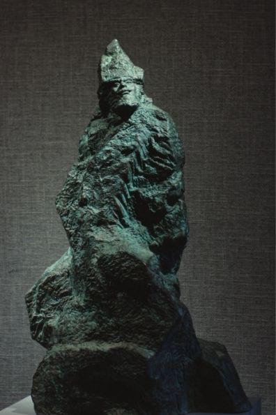 吴成贵雕塑作品《霍尔章谷》